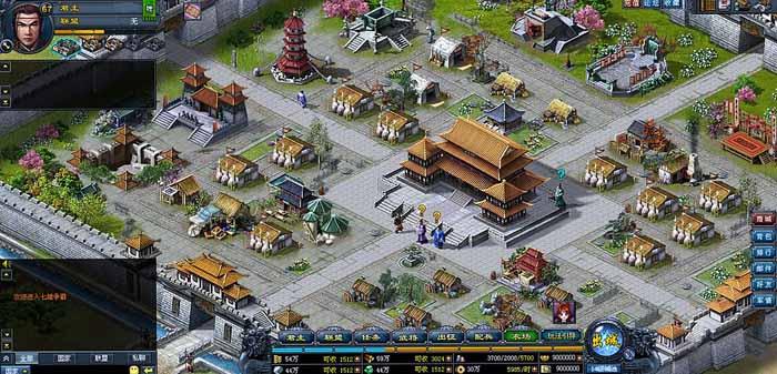 《七雄争霸》百战千军游戏截图 (2)