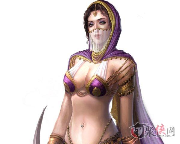 帝国文明 波斯美女