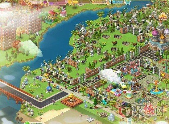 星佳城市没有动物园的动物乐园城市布局图