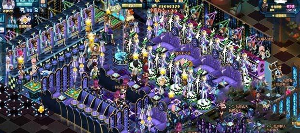 夜店之王紫夜妖娆派对装修图文攻略分享