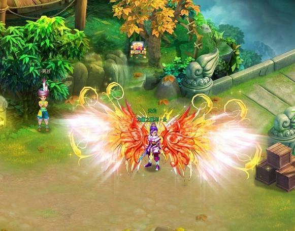 《qq天仙》2.7版本更新内容 新增10-12阶翅膀