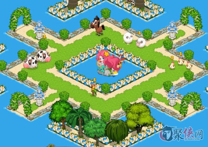 qq天堂岛游戏截图欣赏