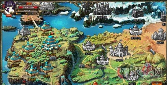 魂之力量游戏界面功能及世界地图介绍