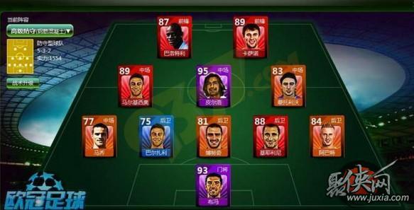 欧冠足球球员位置分配攻略