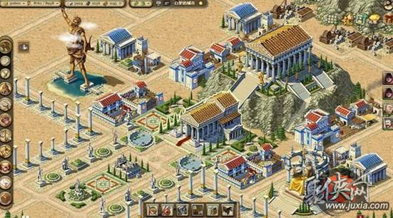帝国与文明希腊 中国 波斯建筑实景图