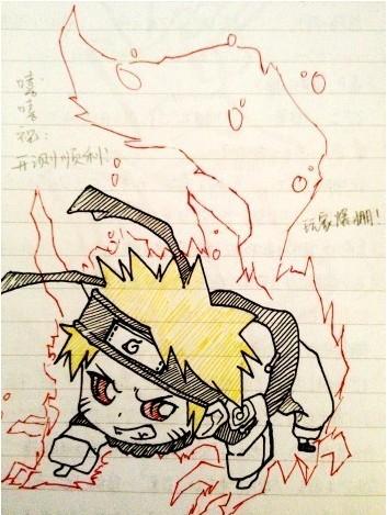 《火影忍者ol》火影手绘秀活动