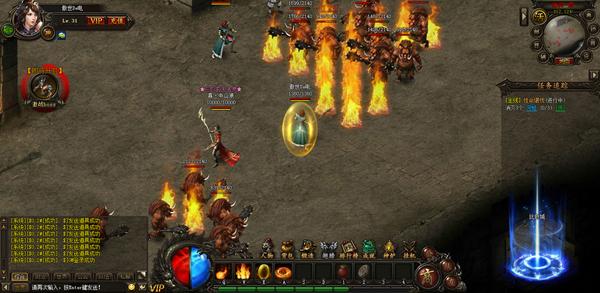 arpg传奇类网页游戏《传奇霸业》还原经典截图赏