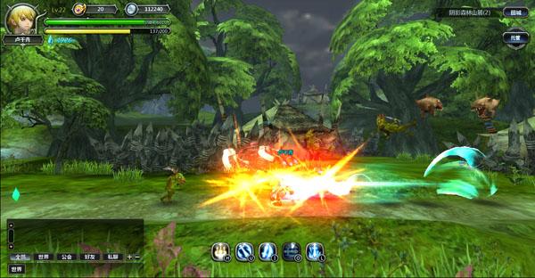 3d横版动作网页游戏_3d横版arpg网页游戏《龙之谷勇士web》游戏截图 (5)