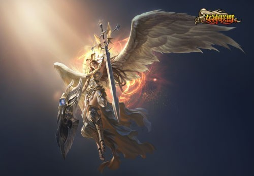 图1 女神联盟 手办即将来袭 首款胜利女神 高清图片