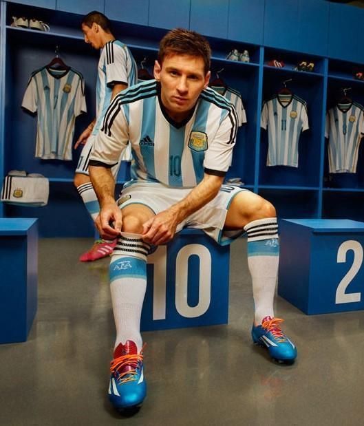 阿根廷球衣图片