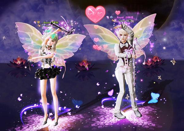 炫舞时代蝴蝶系列套装效果