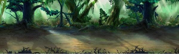穿越策略角色扮演类网页游戏《回到三国志》截图原画图片