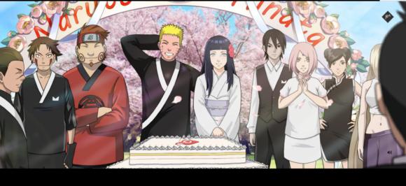 火影忍者OL鸣人雏田结婚礼图集图片