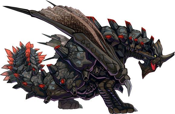 怪物猎人开拓记黑铠龙属性一览图片