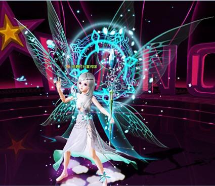 炫舞时代幸运卡牌更新梦幻精灵套装