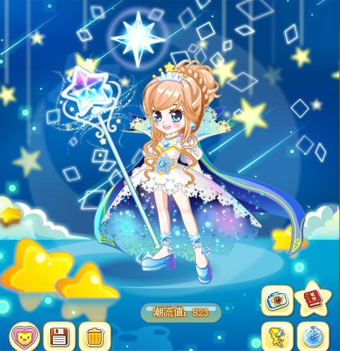 梦幻卡通裙子图片