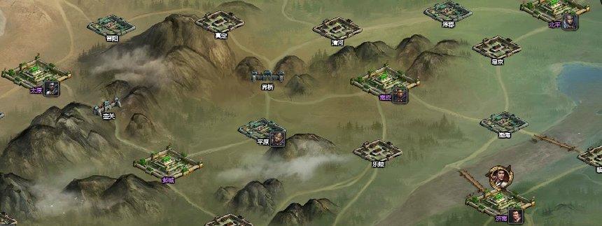 大皇帝新国战大本营城池地图