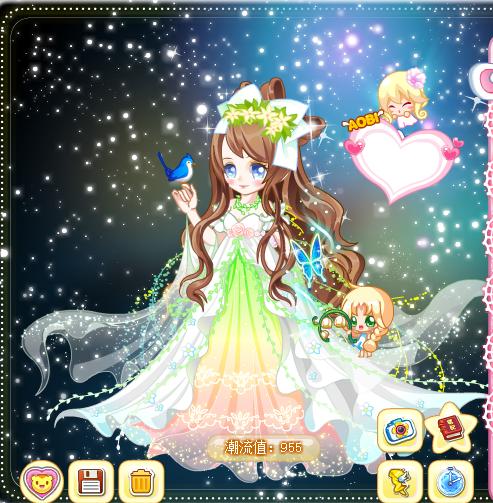 魔力姐姐_奥比岛花草香公主套装是前段时间才上线的一套魔力时装,下面给大家