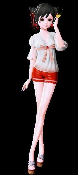 炫舞时代女生最新染色衣服搭配 可爱软妹风图片