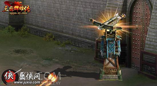 点击箭塔图标可以在战场上建造一座箭塔定点攻击