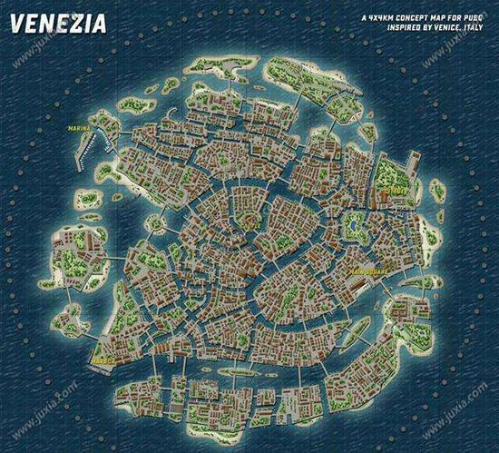 绝地求生新地图海岛图曝光 海上地图一览
