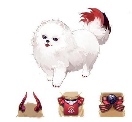全新小动物赤雪犬上线!爱心公益活动启动