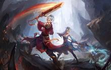 玄幻修仙ARPG网页游戏《百战天下》原画及地图欣赏