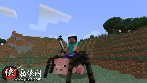 我的世界蜘蛛猪驯服攻略 蜘蛛猪怎么驯服