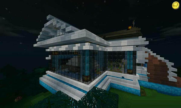 迷你世界別墅設計圖分享