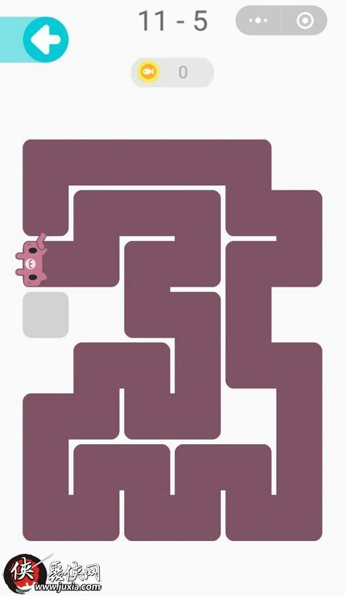 微信一笔画完11 5怎么过 微信一笔画完11 5画法路线推荐