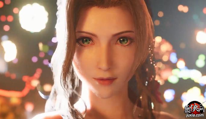 东京电玩展《最终幻想7重制版》公开预告 超高清克劳德