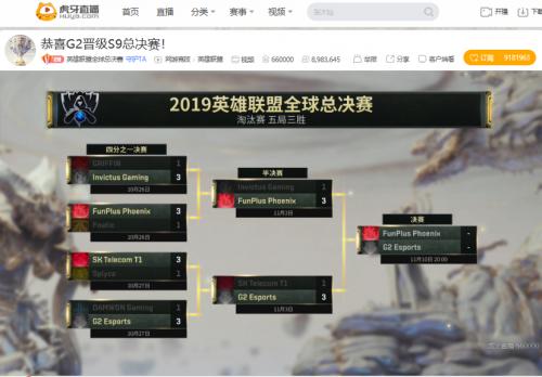 英雄联盟S9全球总决赛