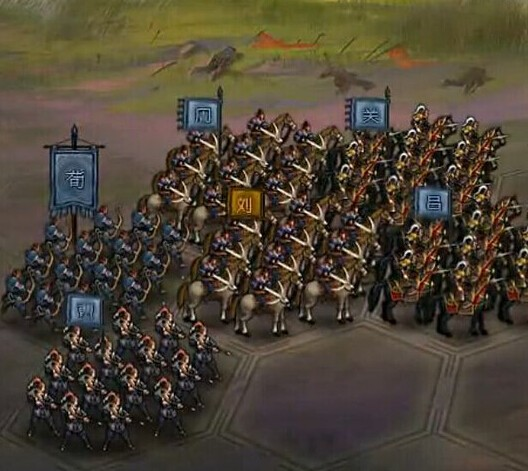 大皇帝千里第二关武将站位