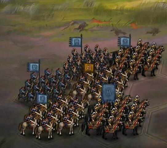 大皇帝千里第三关武将站位