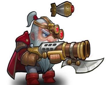 刀塔传奇英雄火枪