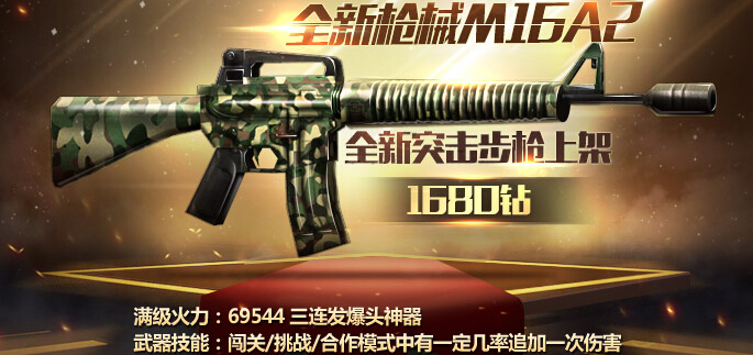 全民突击M16A2突击步枪