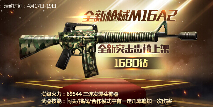 全民突击M16A2