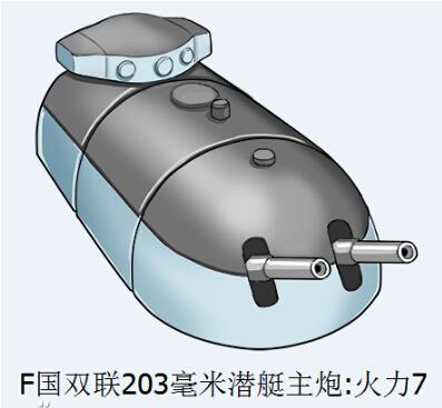 戰艦少女潛艇主炮