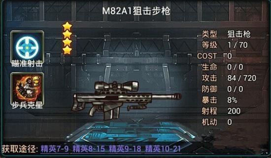 M82A1狙击枪