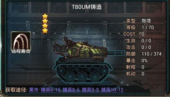T80UM铸造